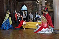 Schloss Burg - Rittersaal