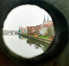 look through