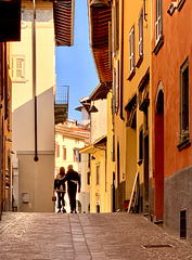 sunny October in Clusone