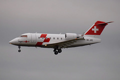 HB-JRC CL604 Swiss Air Ambulance
