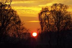 DSCF0145 Sunrise Olden Eibergen