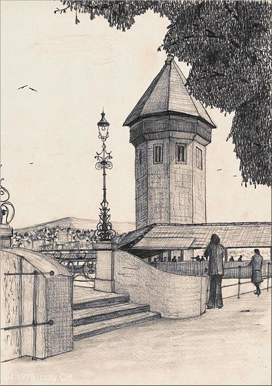 Kapellbrücke vom Rathaussteg