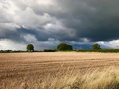 Stormy clouds near Gnosall