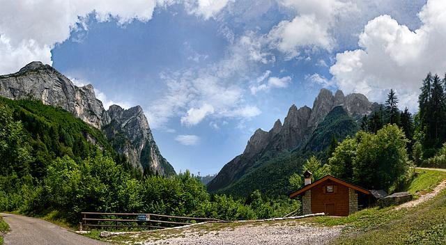 Near Agordino, Italian Dolomites