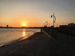Sunset Old Portsmouth