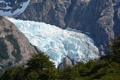 Argentina, Piedras Blancas Glacier