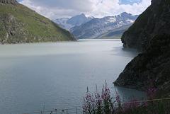 Lac des Dix, Valais (Suisse)
