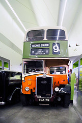Bus, Riverside Museum, Glasgow