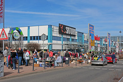 Flohmarkt im Chemnitz Center