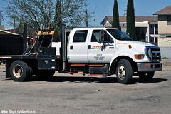 bnsf railroad ford f650 crew cab kingman az 03'15