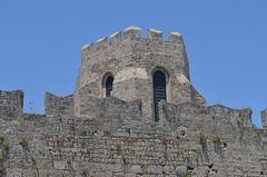 The Fortress of Rhodes, East Wall and Tower