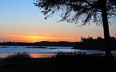 Evening shot at MacKenzie Beach, Tofino, BC