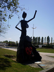 Monument to the Twinning of Traditional Cultures.
