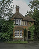 A cottage in Fulham Palace grounds