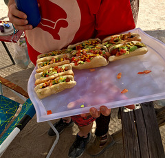 Hot Dogs at Bequinox