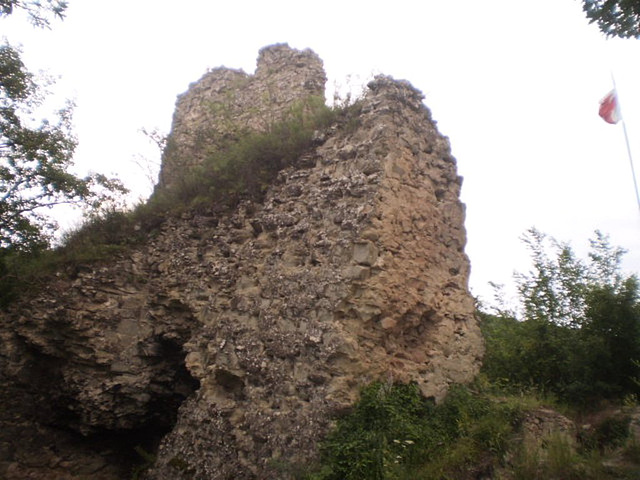 Ruins of Ujarma Fortress.