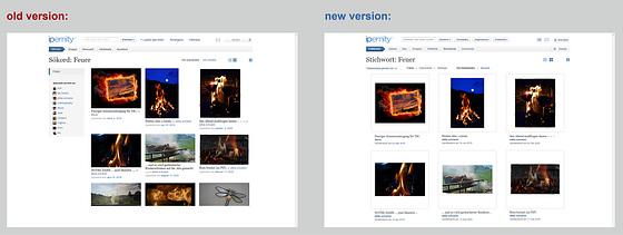 Update Explore/Keywords