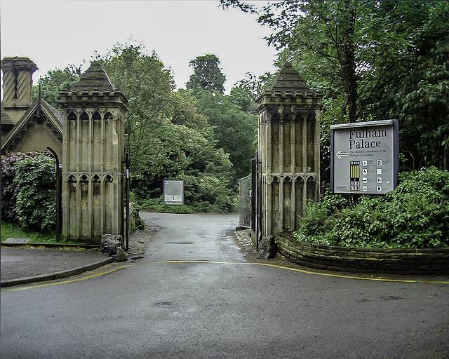 Fulham Palace Entrance Gateway