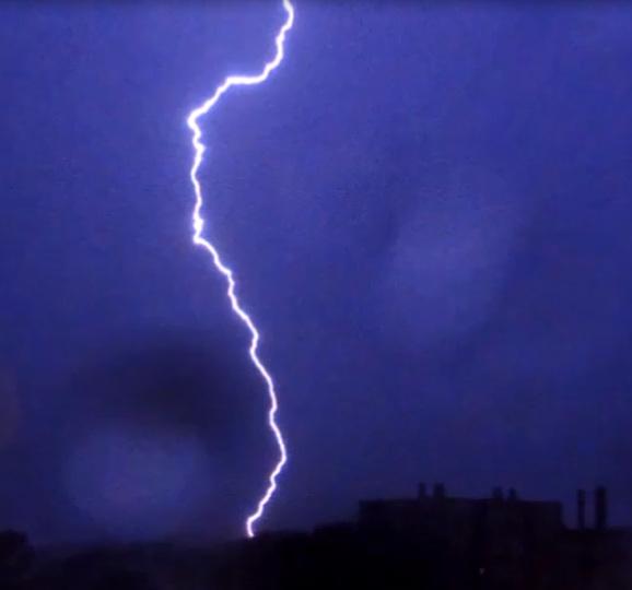 lightning 01 10 2019 ardeche/france