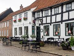 Street in Ribe, Denmark