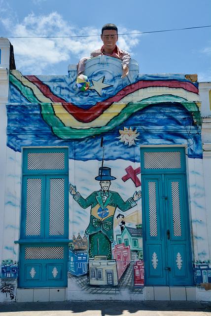 On thé street….Olinda, Brazil