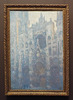 Portal of Rouen Cathedral in Morning Light by Monet in the Getty Center, June 2016