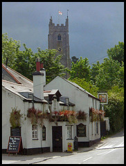 Kings Arms & St Marys Church