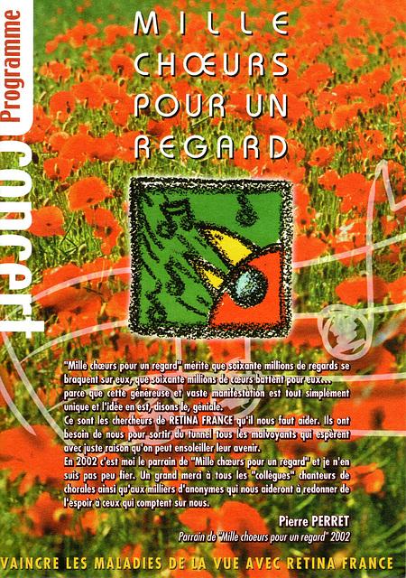 Concert Mille Choeurs à Blandy-les-Tours le 16/03/2002