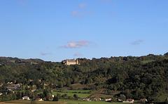 Château de Virieu (38) 17 octobre 2013. (Depuis le TER Lyon-Grenoble)