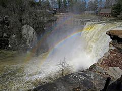 Noccalula Falls Double Rainbow