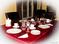 Table d'invités...