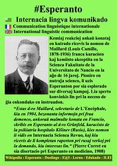 #Esperanto Louis Camille Maillard EO