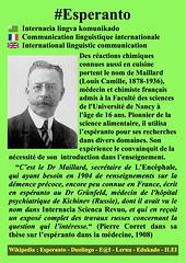 #Esperanto Louis Camille Maillard FR