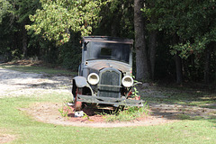 Photo # 2... Here's that Model T...its a show stopper beside a rural road...:)  see # 3