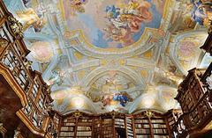 Die Klosterbibliothek St. Florian - Abbey library St. Florian