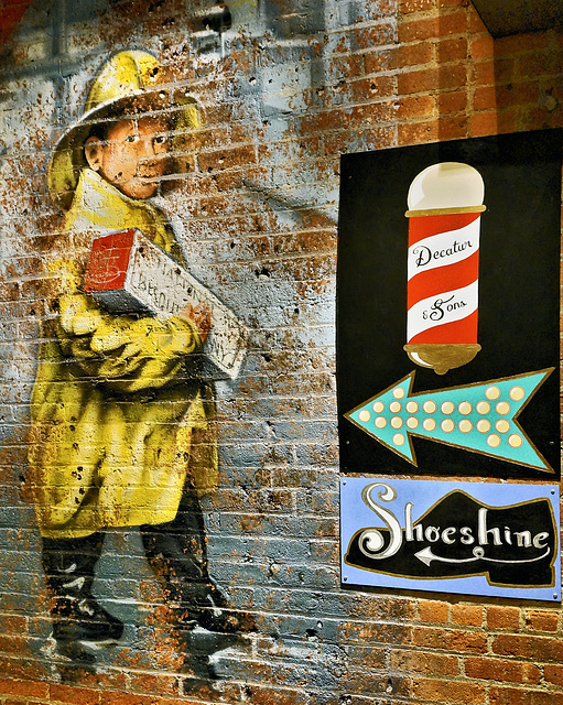 Shoeshine Boy – Chelsea Market, New York, New York
