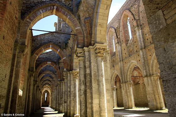 Toscana - Chiusdino - Abbazia di San Galgano