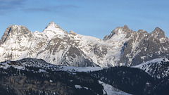 Lofer Mountains from the West