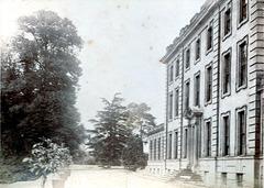 Entrance Facade, Baginton Hall, Warwickshire Burnt 1899 demolished c1926
