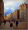 Gdańsk. ul. Długa.