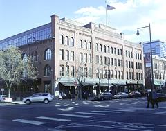 Denver City Railway Building - 1883