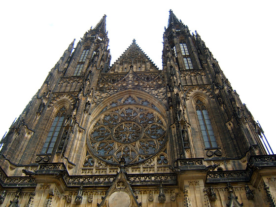 Cathedral St. Vitus, St. Wenceslaus and St. Adalbert, Prague Castle