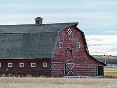 A fine old barn