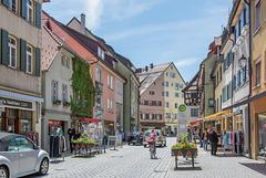 Wangen im Allgäu, Blick in die Schmiedstraße