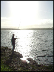 fishing at Warren Point