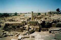 Nabataean ruins.