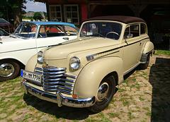 Opel Olympia Cabriolimousine, 1950-53