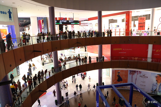 Dubai Mall scene