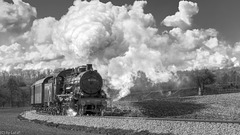 Steaming Uphill