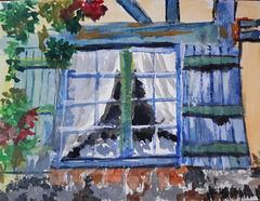 fenêtre sur Gerberoy